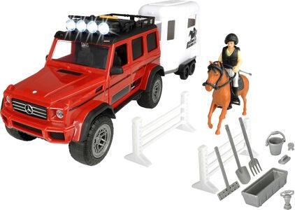 Dickie Toys Playlife Lekesett Hestetransport