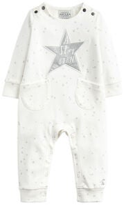 Tom Joule Jumpsuit, Creme Cinderella Star Hope