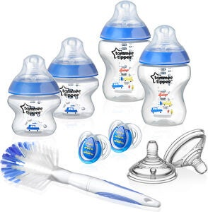 Tommee Tippee CTN Bottle Starter Kit Blue