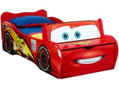 Disney Cars Juniorseng m/Oppbevaring 70x140