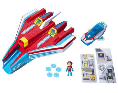 Paw Patrol Mighty Pups Supersonic Jetfly 2in1