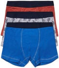 Luca & Lola Giacomo Boksershorts 3-pack, Blue/Orange