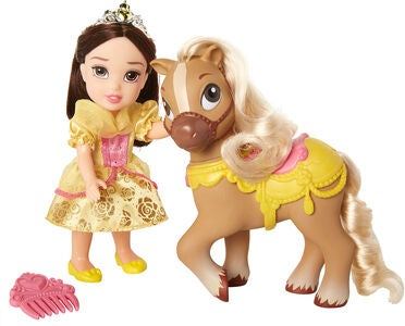 Disney Princess Belle Og Hest