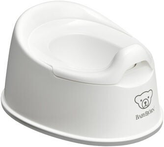 BabyBjörn Smart Potte, White/Grey