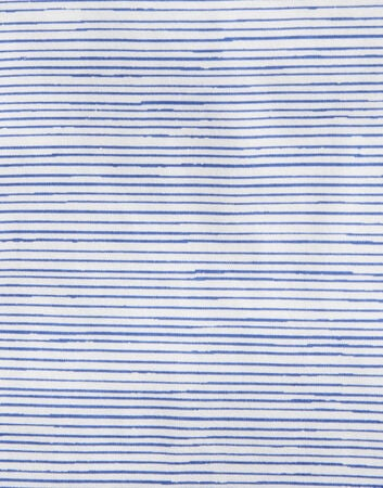 Tom Joule Applique T-skjorte, Blue Pencil Stripe