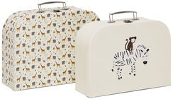 Alice & Fox Pappkoffert Safari Adventure 2-Pack