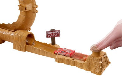 Disney Cars Willys Butte Transforming Track Bilbane