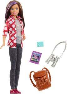 Barbie Travel Dukke Skipper