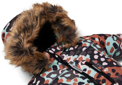 Nordbjørn Igloo Vinterdress Baby, Brown Camo