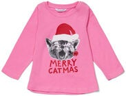 Luca & Lola Topp Merry Catbaby, Pink