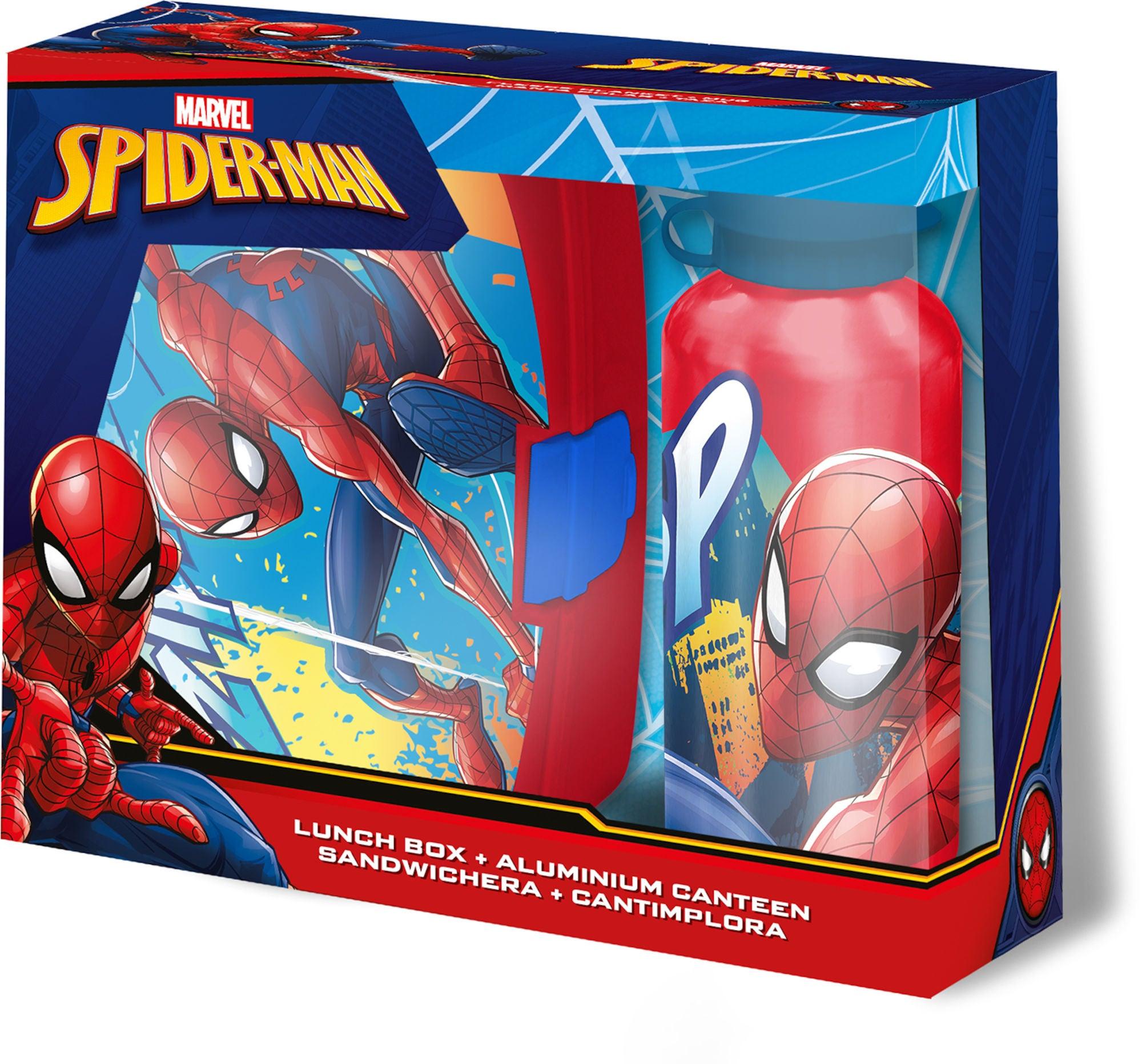 Marvel Spiderman Matboks Og Termos
