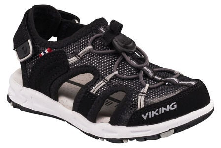 Viking Thrill II Sandal, Black/Grey