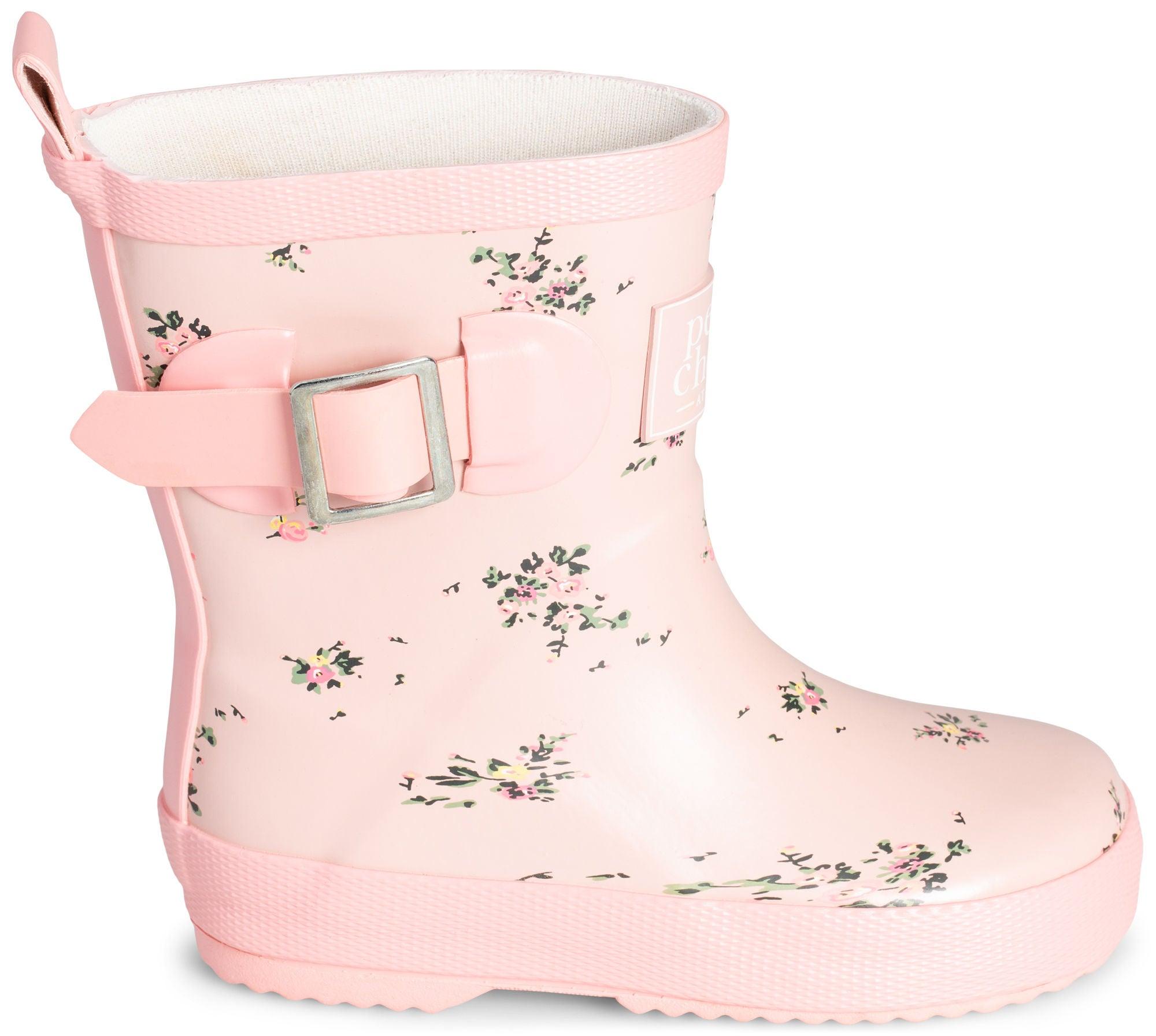 d3c5403a81f Petite Chérie Atelier Lea Gummistøvel, Pink/Wildflower
