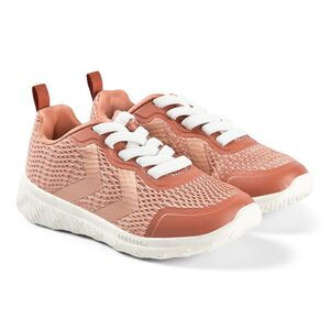 Hummel Actus ML Jr Sneaker, Cedar Wood