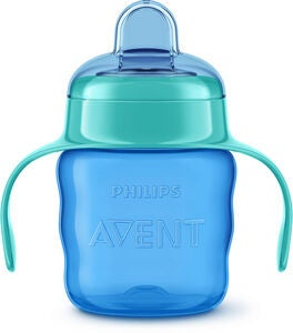 Philips Avent Classic Tåtekopp 200 ml, Blue/Green