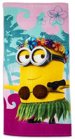 Minions Badehåndkle Hawaii