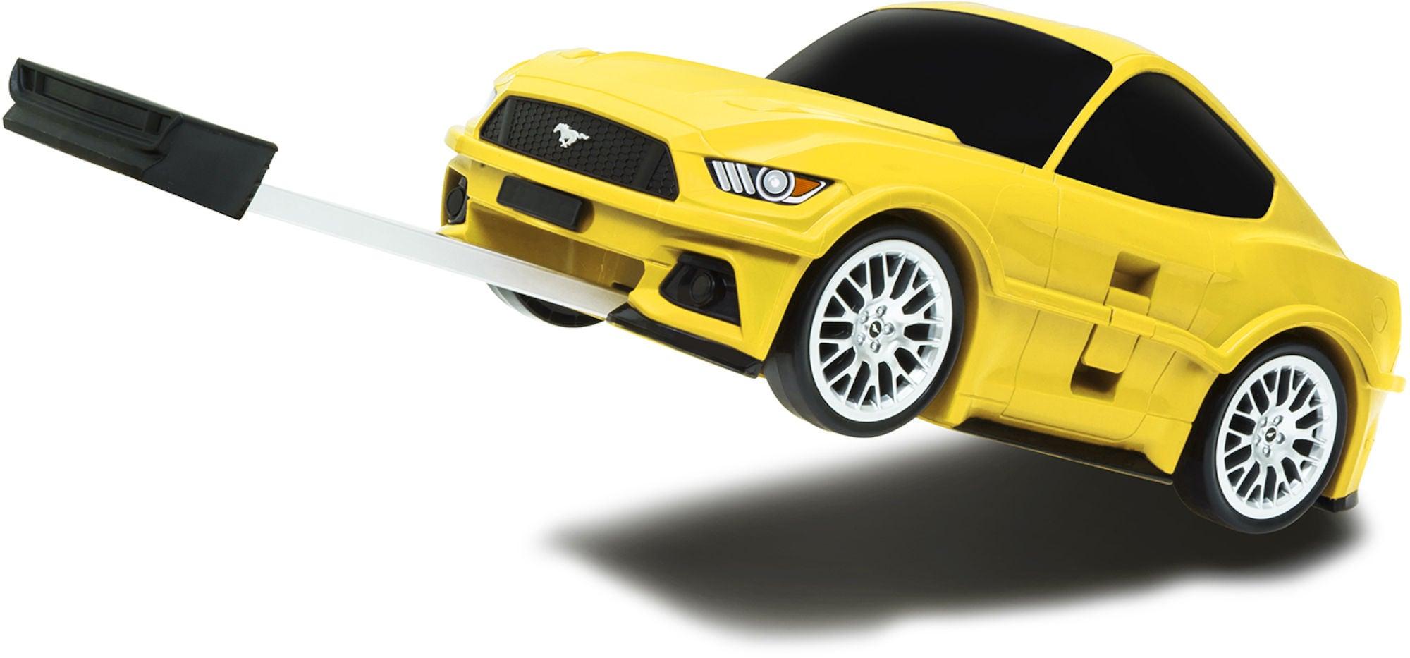 Ford Mustang Trillekoffert, Gul