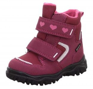 Superfit Husky1 GTX Vintersko, Red/Pink