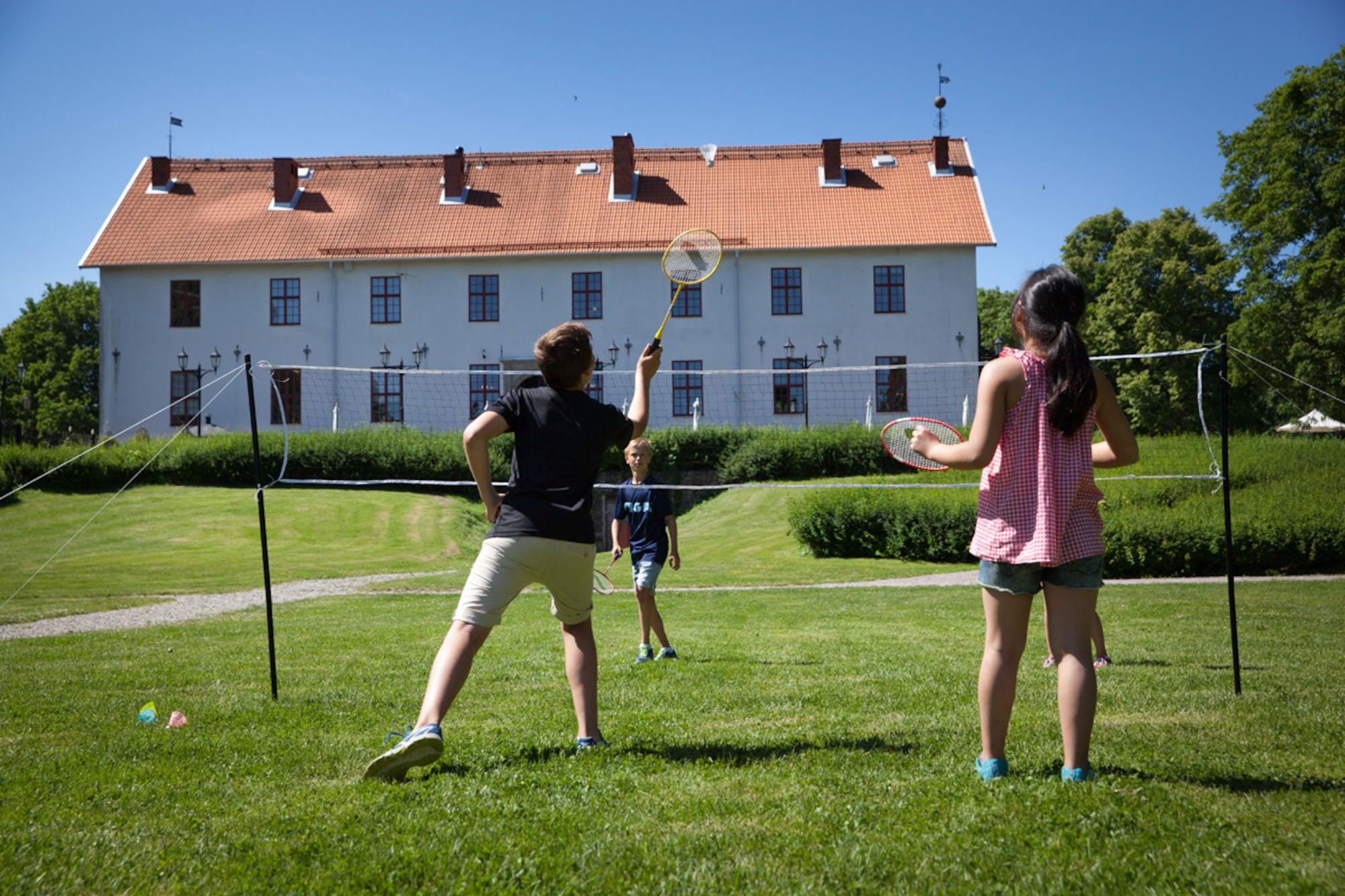 STIGA Badmintonnett med Stolper