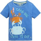 Tom Joule Applique T-Shirt, Blue Crabing A Bite