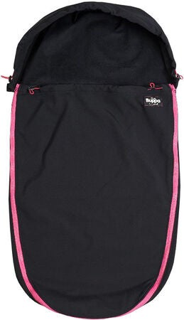 The Buppa Brand Softshell Vognpose, All Black Pink
