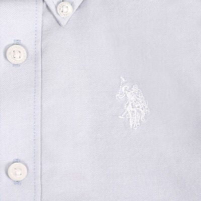 U.S. Polo Assn. Core Oxfordskjorte, Sky Blue