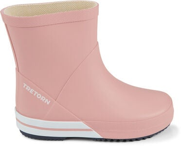 Tretorn Basic Mid Gummistøvel, Light Rose/Navy