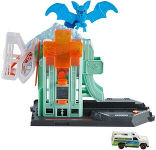 Hot Wheels City Lekesett Bat Blitz Hospital Angrep
