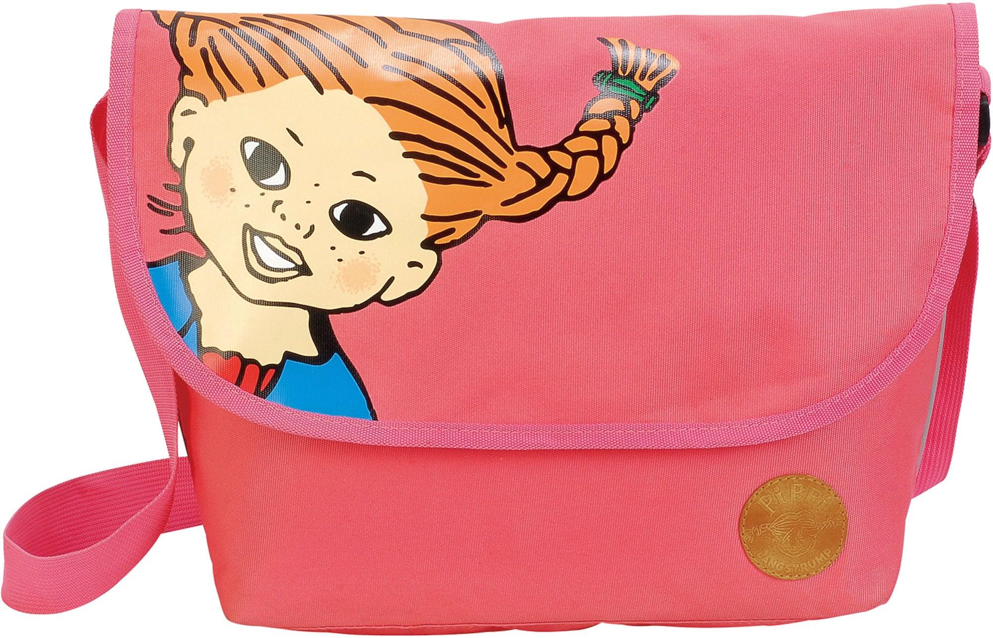 Pippi Langstrømpe Skulderveske, Pirate Pink