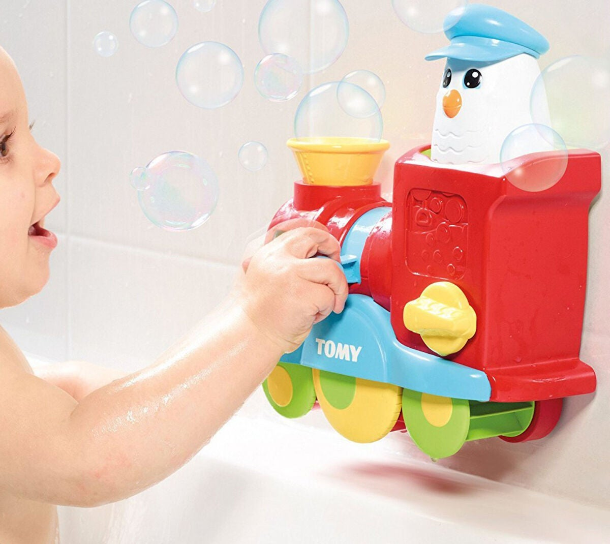 Tomy Bubble Blast Train Badeleke