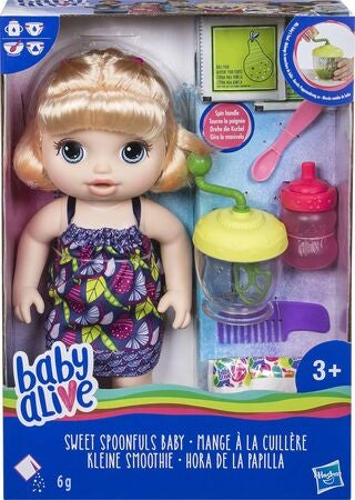 Baby Alive Sweet Spoonfuls Baby Blond