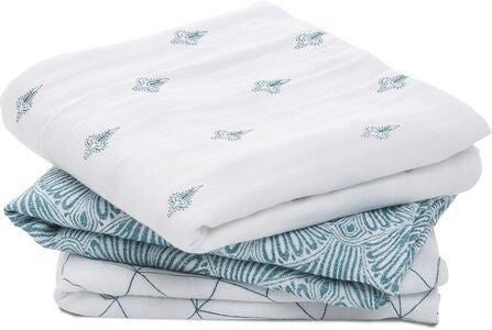 Aden & Anais Musselinteppe Paisley 3-Pack