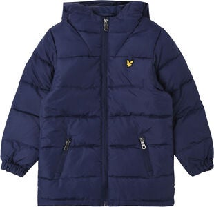 Lyle & Scott Junior Down Dunjakke, Navy Blazer