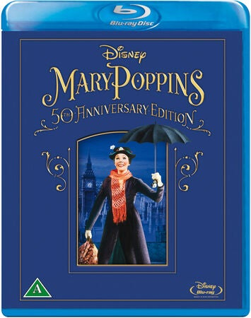 Disney Mary Poppins 50th Anniversary Edition Blu-Ray