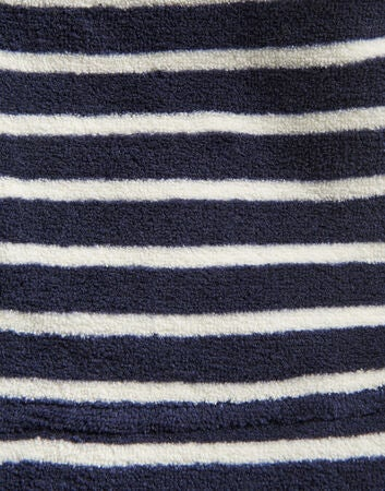Tom Joule Morgenkåpe, Navy Cream Stripe