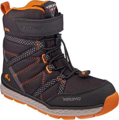 Viking Skomo GTX JR Sko, Black/Rust