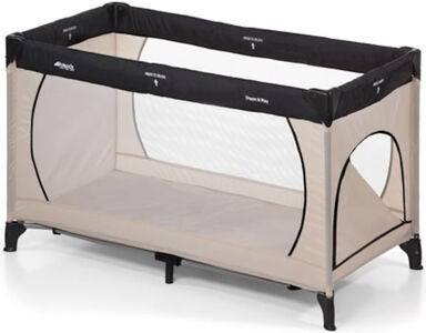 Hauck Dream'n Play Plus Reiseseng, Beige/Grey