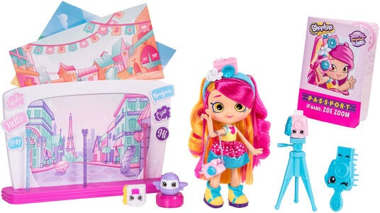 Shopkins S8 Shoppie World Vacation Selfie Stopover
