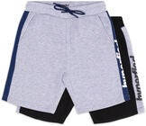 Hyperfied Turn Shorts 2-pack, Black/Grey Melange