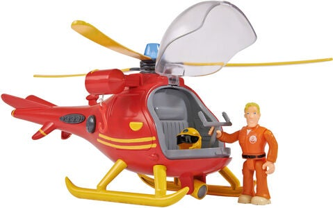 Brannman Sam Wallaby Helikopter