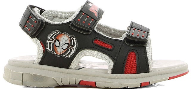 Marvel Spider-Man Sandal, Black/Orange