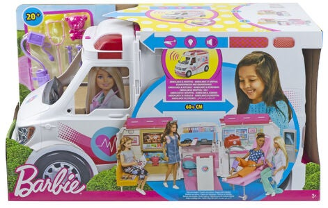 Barbie Ambulanse Og Sykehus 2-i-1