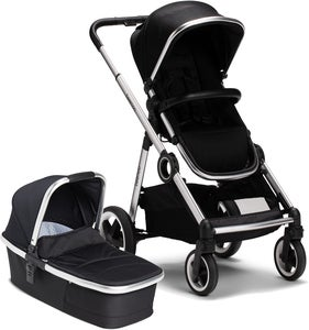 Beemoo Twin Travel+ 2020 Duovogn, Black