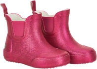 CeLaVi Wellies Short Glitter Gummistøvel, Real Pink