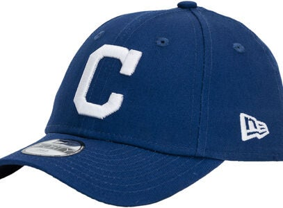 New Era MLB 9Forty Kids Cleveland Indians Kaps, Dark Royal/White