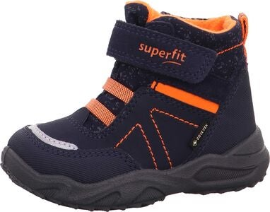 Superfit Glacier GTX Vintersko, Blue/Orange