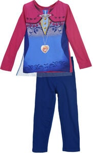 Disney Frozen Pyjamas, Dark Pink