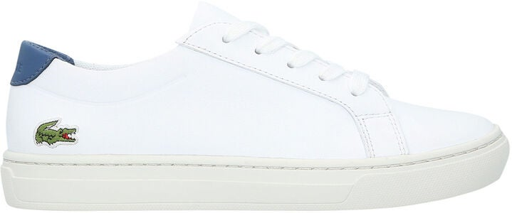 Lacoste L.12.12 318 Sneaker, White/Dark Blue