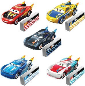 Disney Cars Bil XRS Rocket Racing Die-Cast 1:55