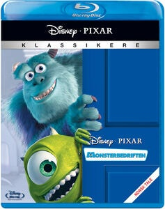 Disney Pixar Monsterbedriften Blu-Ray